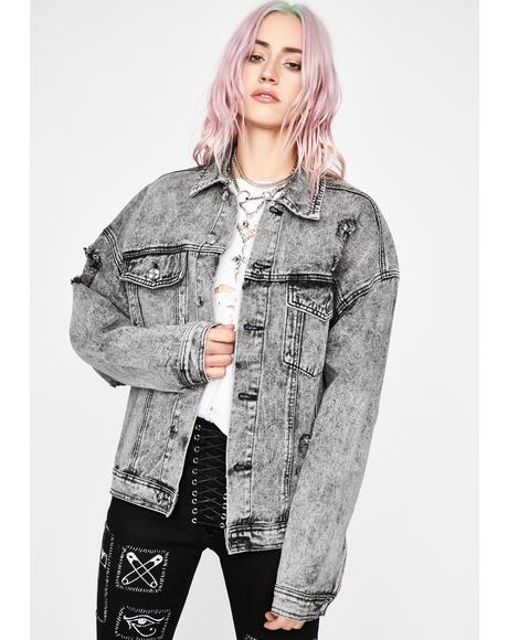 Love Or Confusion Denim Jacket