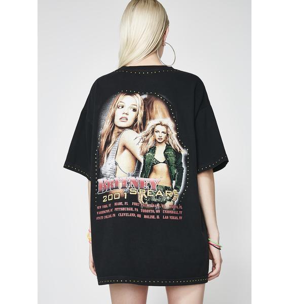 Venomiss NYC X BABEMANIA Britney Spears 2001 Tour Tee
