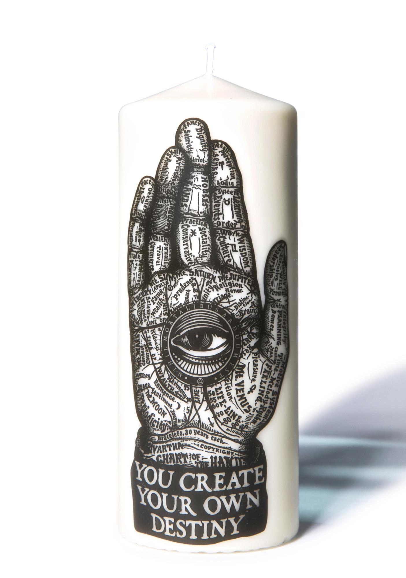 Palmistry Candle