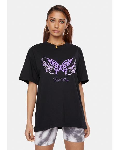 Butterfly Tattoo Graphic Tee