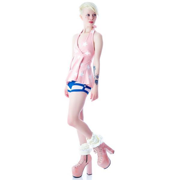 Wildfox Couture Patriotic Girl Monroe Tank