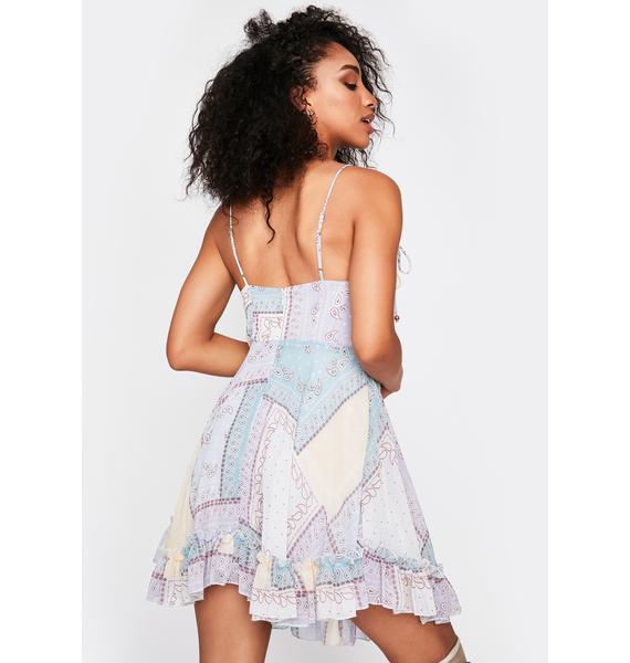 Prairie Beauty Patchwork Dress