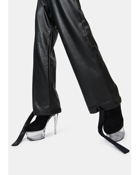 Juniper Vegan Leather Pants
