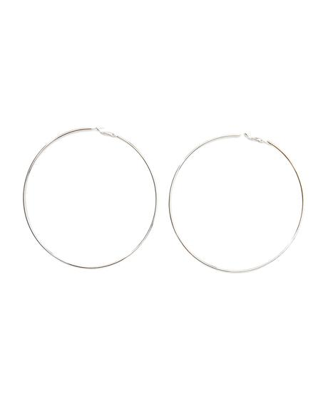 From The Block Hoop Earrings