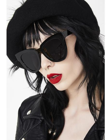 High Standards Cat Eye Sunglasses