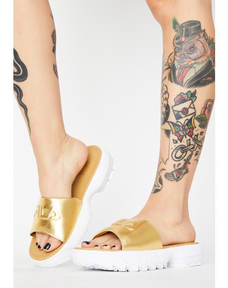Gold Distuptor Metallic Slides