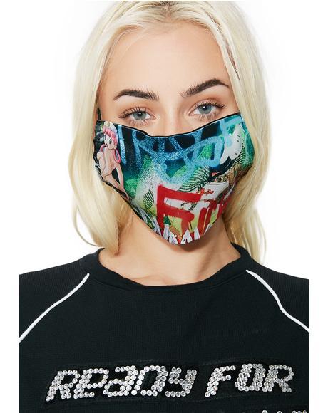 Rainbow Tyo X Sars Mask