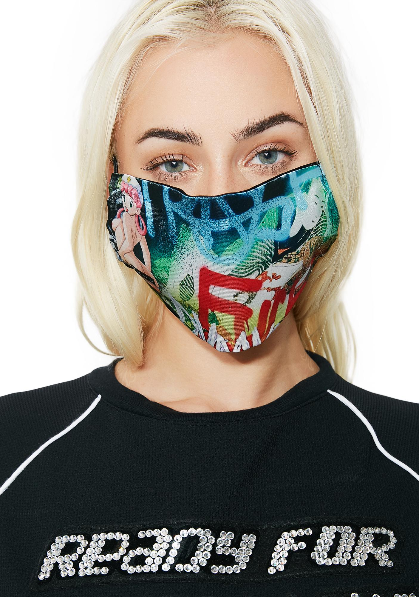 DAMAGE Rainbow Tyo X Sars Mask