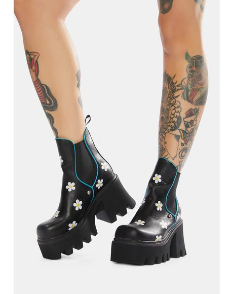 Floral In Frenzy Boots