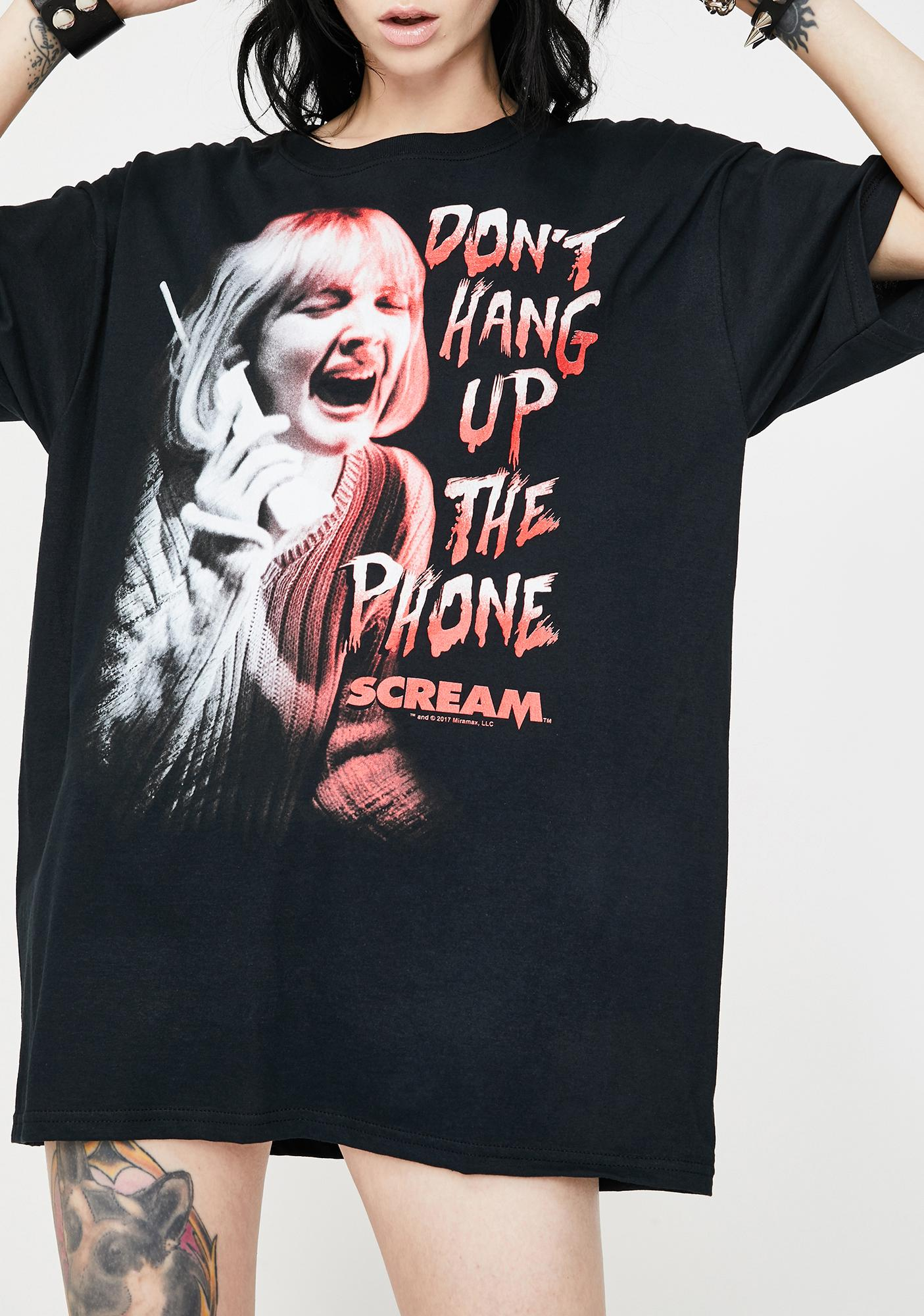 Don't Hang Up Graphic Tee