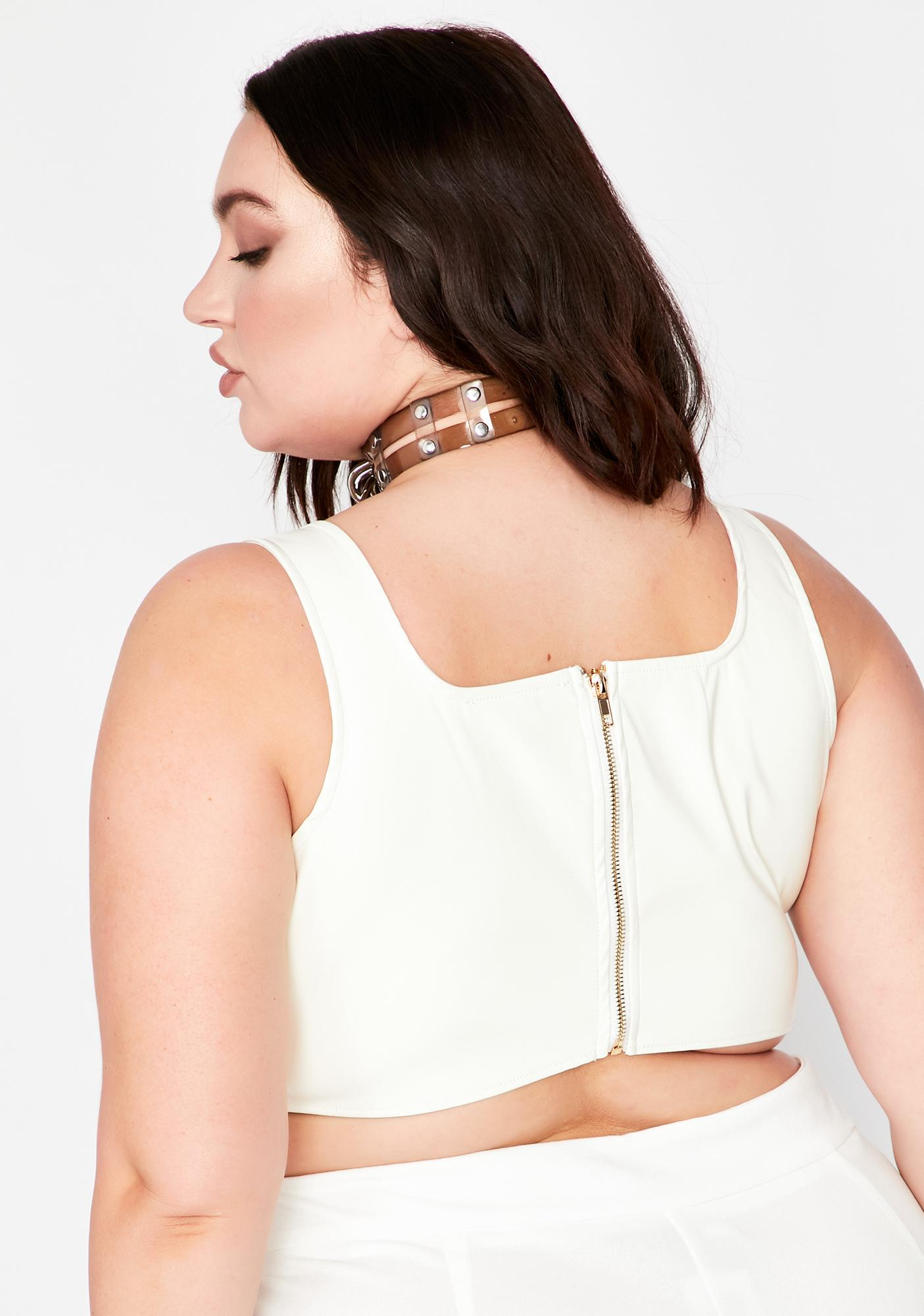 Totally All For It Crop Tank
