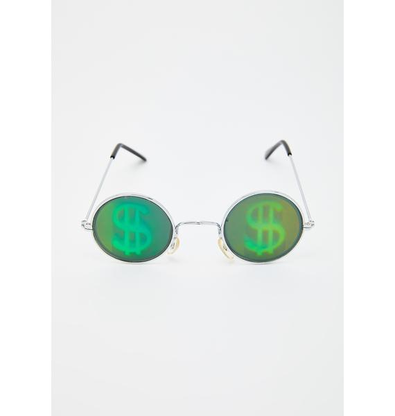 Replay Vintage Sunglasses All I See Are Signs Hologram Sunglasses