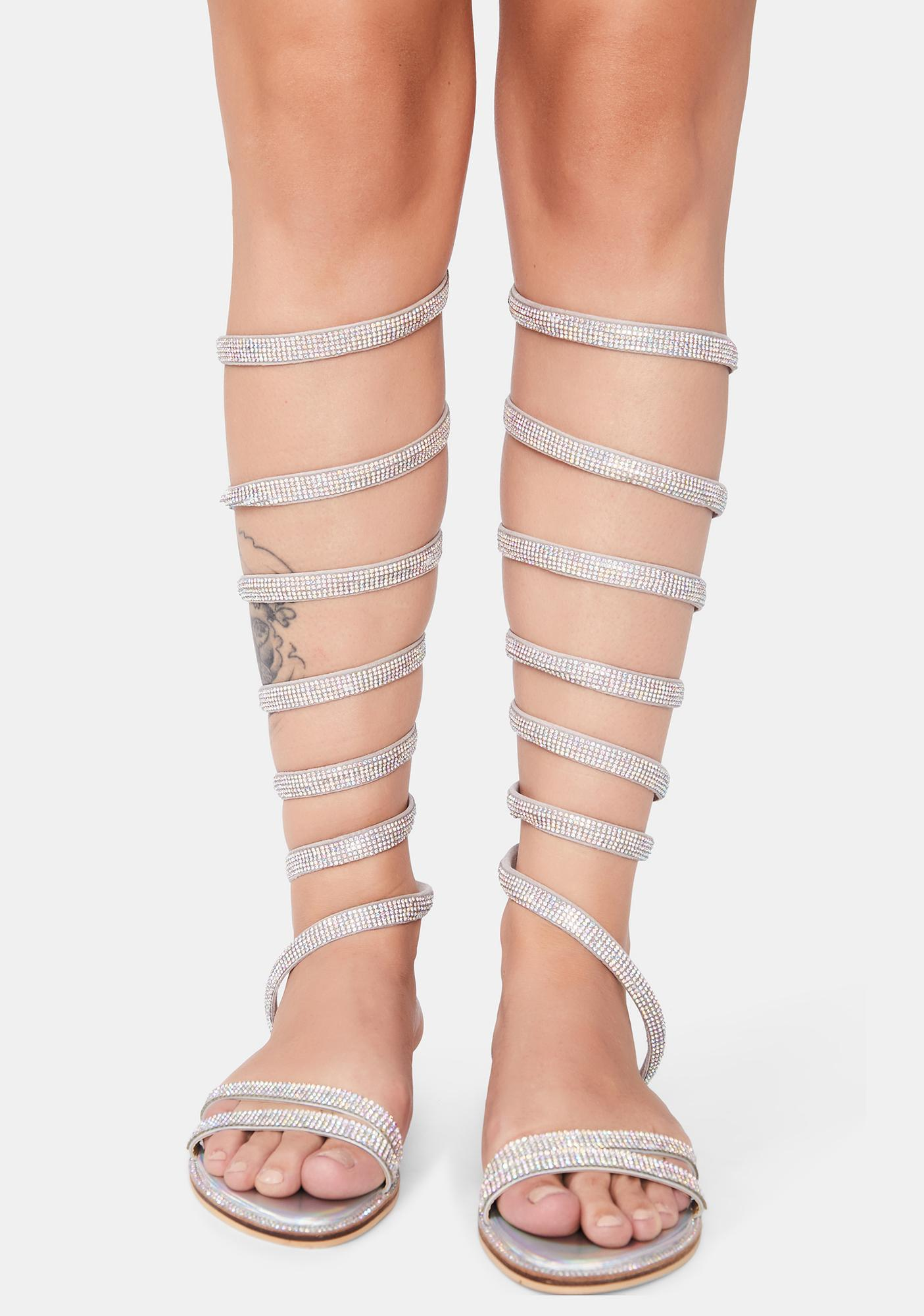 Cosmic Tres Chic Wrap Sandals