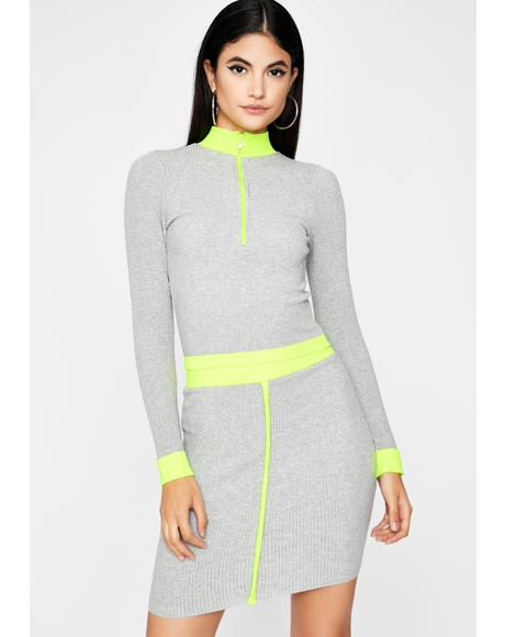 Florescent Filter Skirt Set