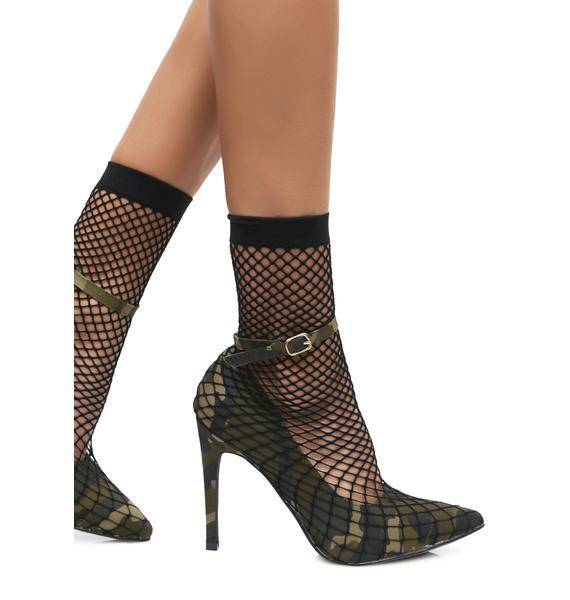 Soldier Girl Heels