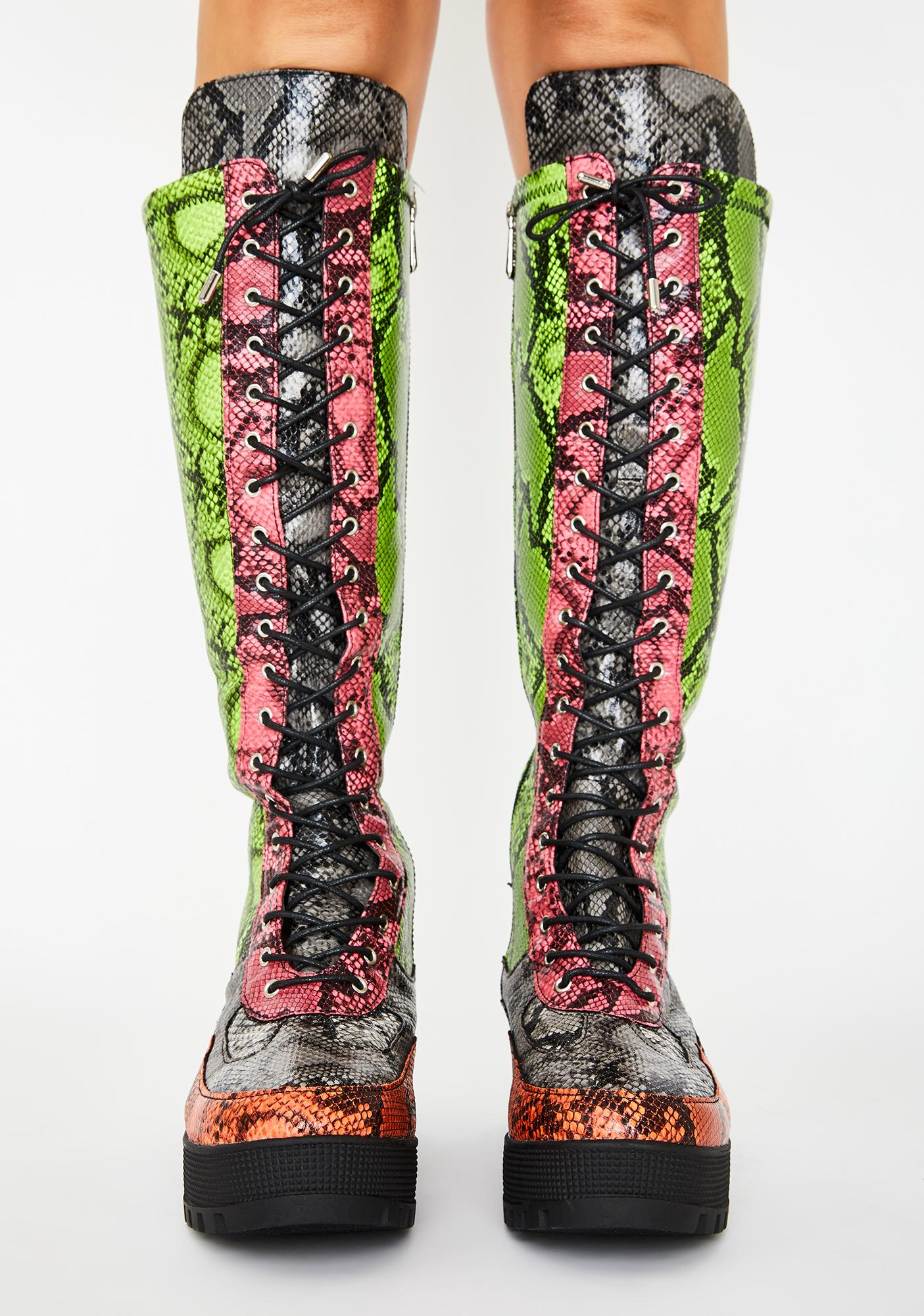 Venom Max Energy Knee High Boots