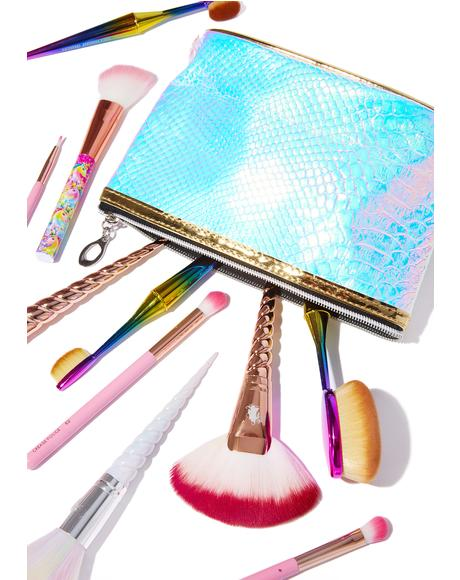 Glamazon Holographic Makeup Bag