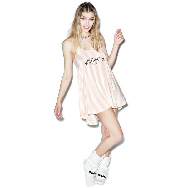 Wildfox Couture Hotel Stripe Bell's Beach Dress