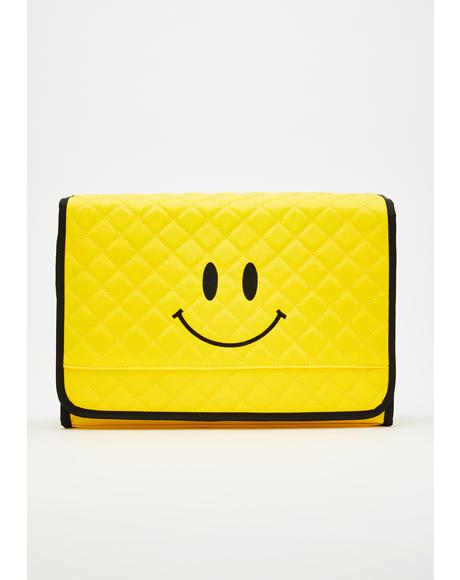 Sunshine Smiles Quilted Bag