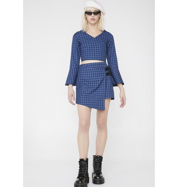 LOVE TOO TRUE Billie Wrap It Skirt