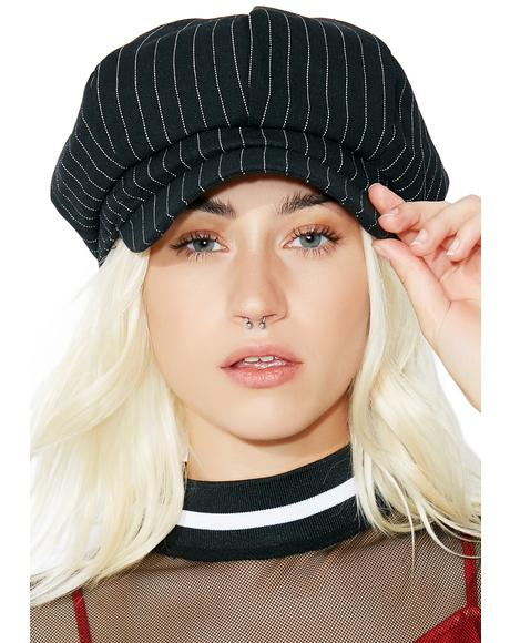 Paperboy Pinstripe Hat