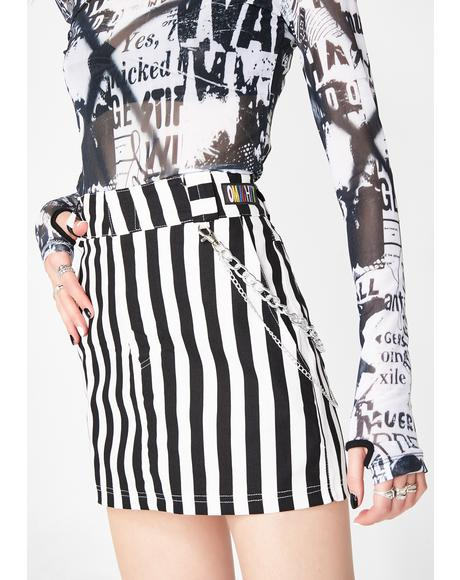 Beetle Juice Chain Skirt