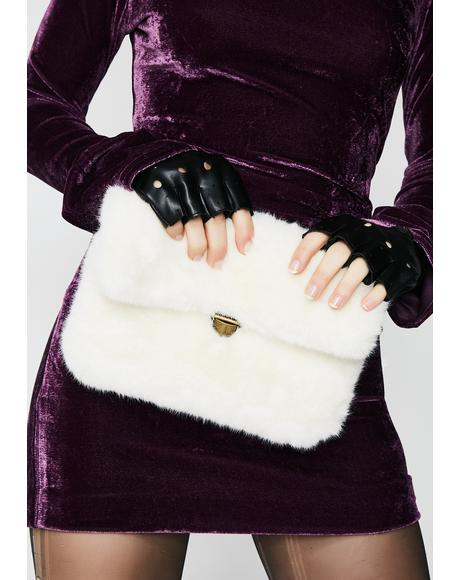 Ice Cold Fuzzy Crossbody Bag