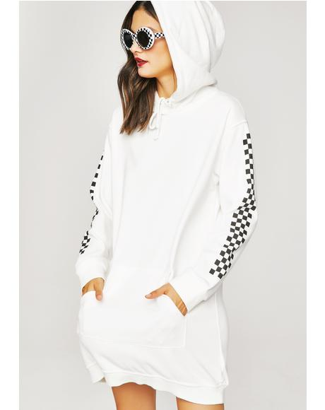 Don't Hate Hoodie Dress