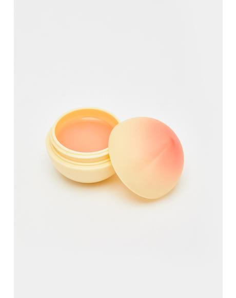 Peach Mini Fruit Lip Balm