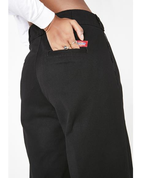 Onyx Worker Wide Leg Pants