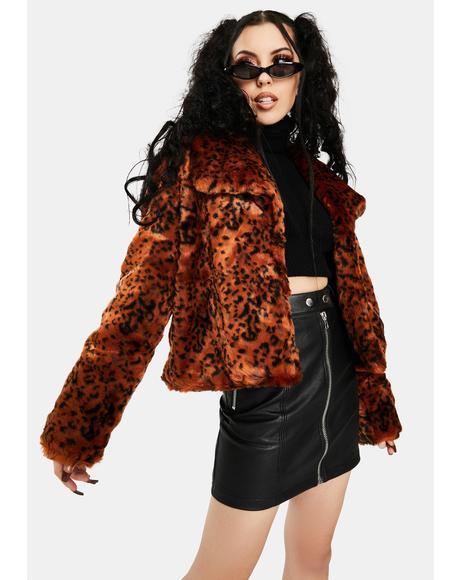 Leopard Queen Jacket
