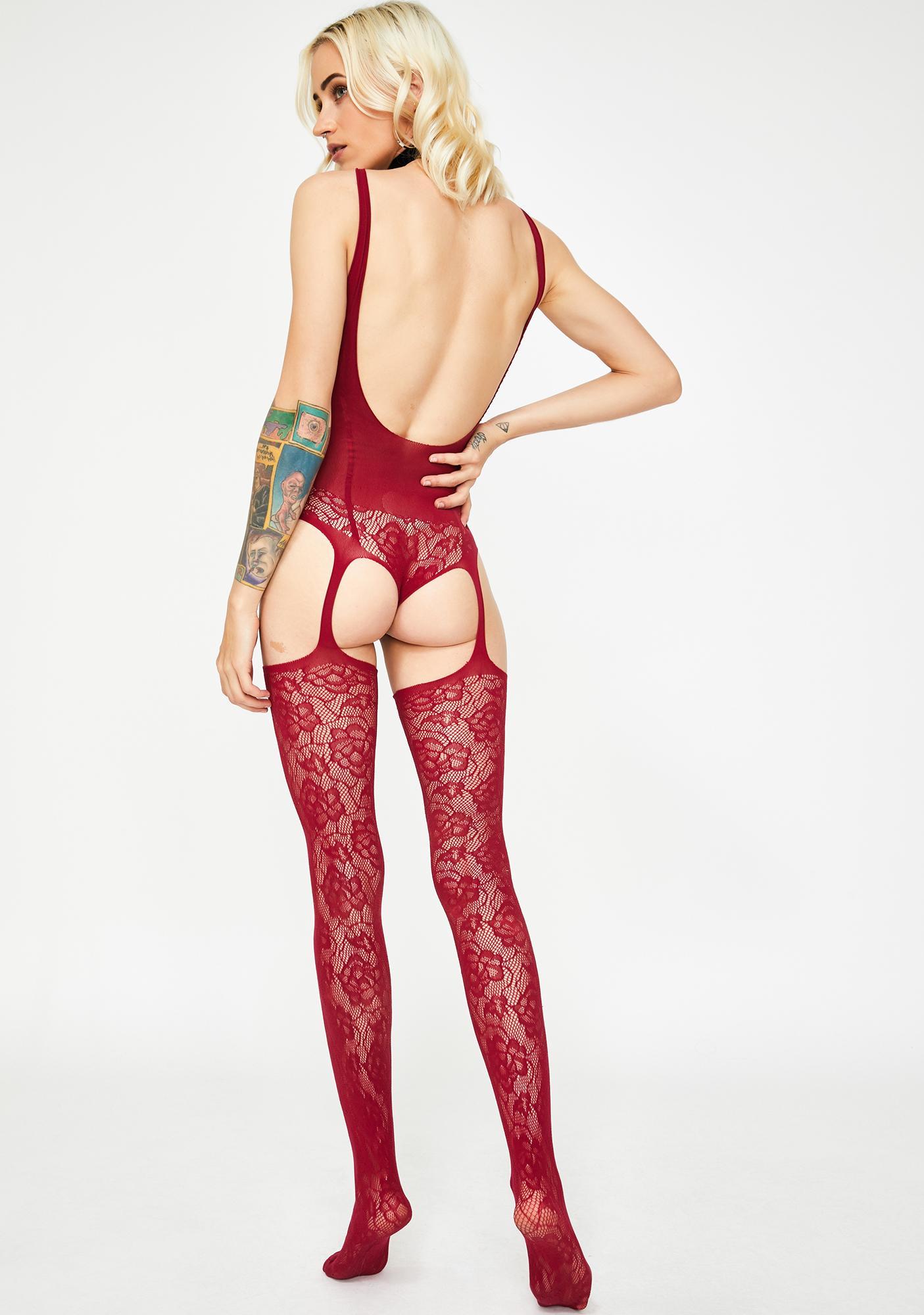 Bedroom Bae Lace Bodystocking