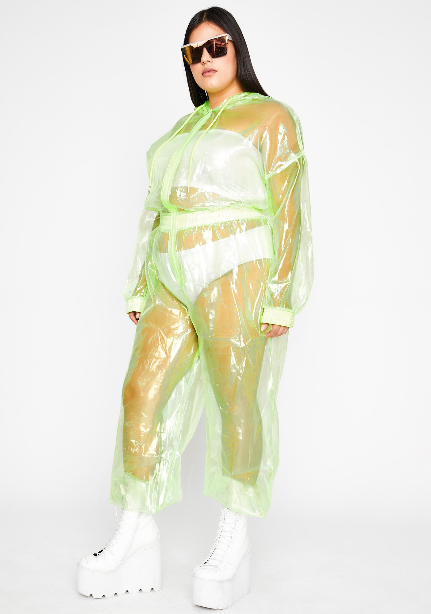 Supa Shocking Slay Organza Jumpsuit