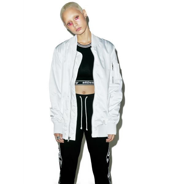 Members Only Lightweight Longer MA-1 Bomber
