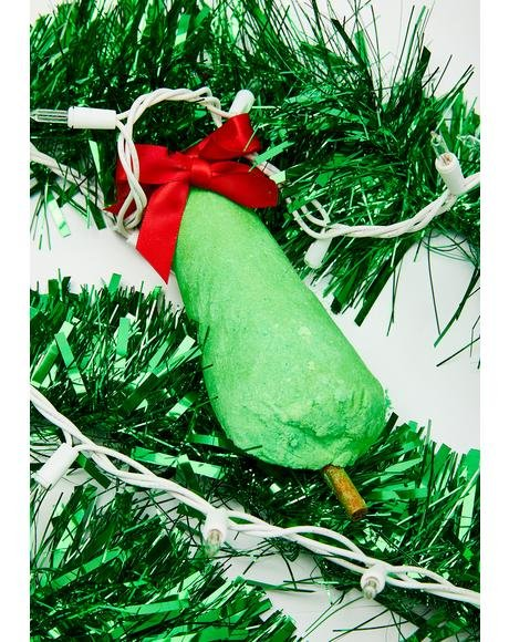 Tinsel Tree Bath Bomb