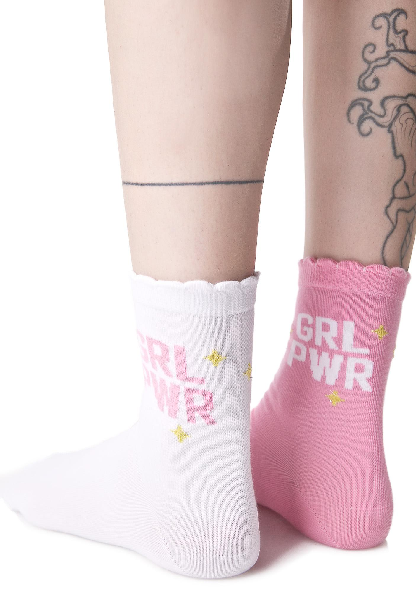 Local Heroes Grl Power Socks