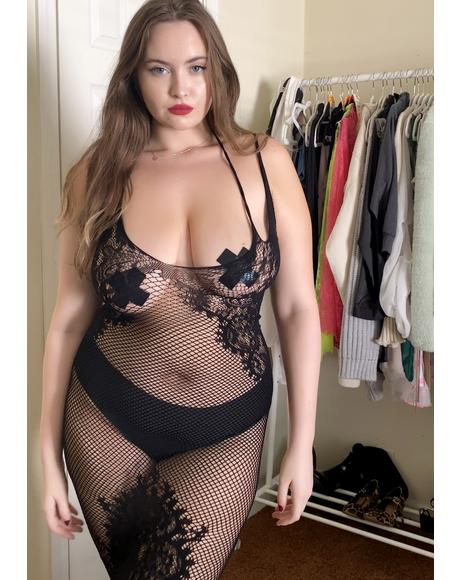 Luxe Cheap Talk Halter Dress