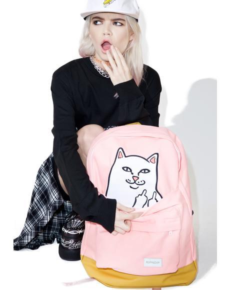 Cute Lord Nermal Backpack