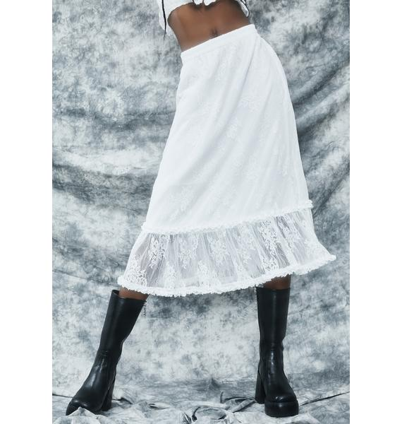 dELiA*s by Dolls Kill Age Of Innocence Midi Skirt