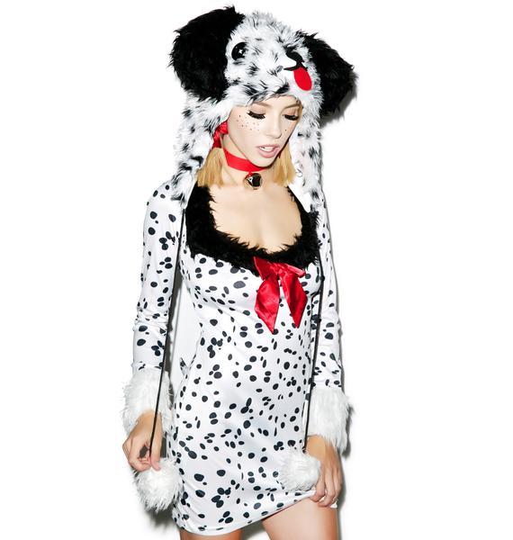 Cruella's Bish Dalmatian Costume