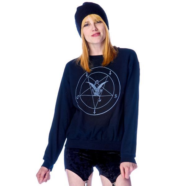 Obesity and Speed Pentagram Sweatshirt