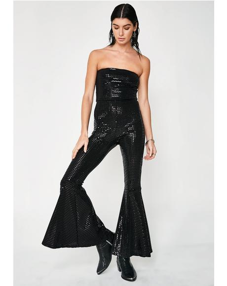 Boogie Fever Bell Bottom Jumpsuit