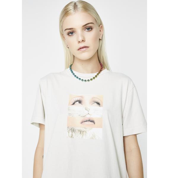 RIPNDIP Pussy Face Tee