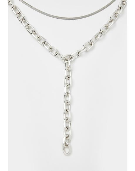 Worldwide Baddie Chain Necklace