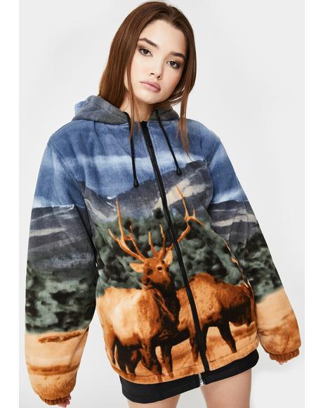 Elk Sherpa Hoodie