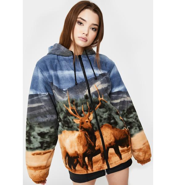 Wildkind Elk Sherpa Hoodie