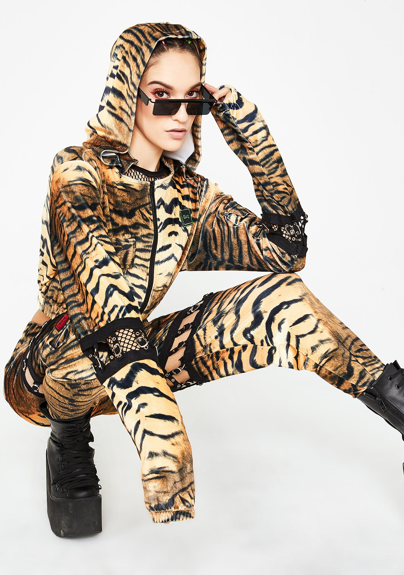 ESQAPE Connected Tiger Hoodie