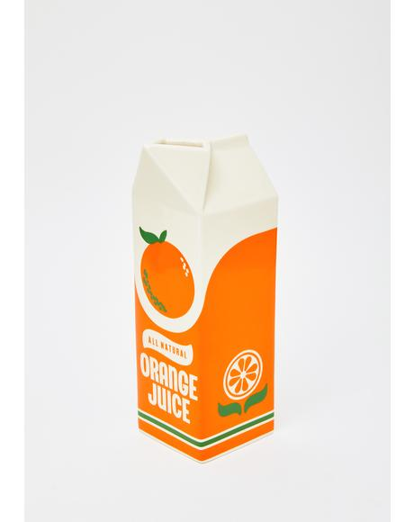 Rise And Shine Orange Juice Vase