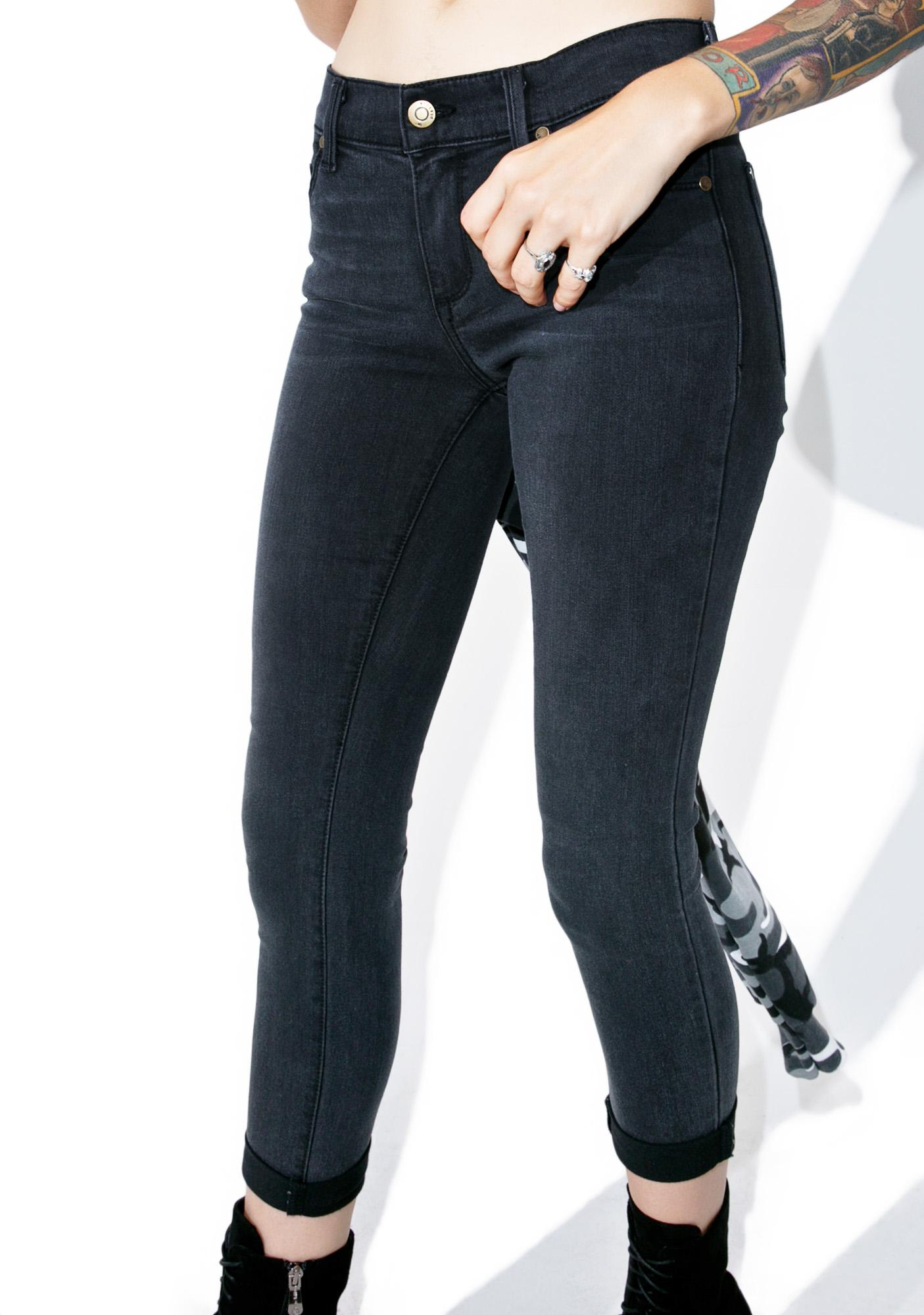 Eight Ball Cuff Jeans