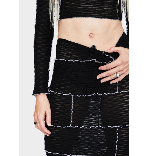 Kiki Riki Ink So Overlooked Midi Skirt